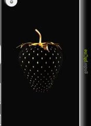 "Чехол на Sony Xperia Z5 Premium E6883 Черная клубника ""3585c-3..."