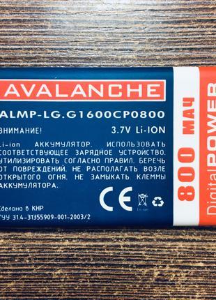 Акумуляторная батарея на телефон LG G1600