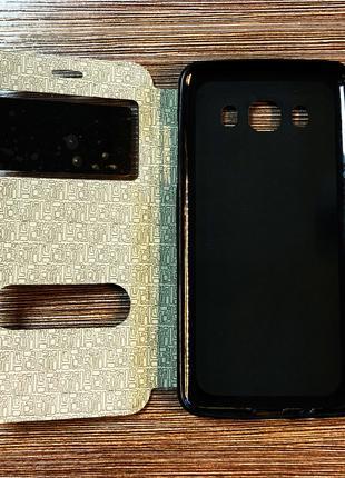 Чехол-книжка на телефон Samsung J510, J5 2016 черного цвета