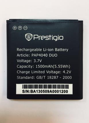 Акумуляторная батарея на телефон Prestigio MultiPhone PAP4040