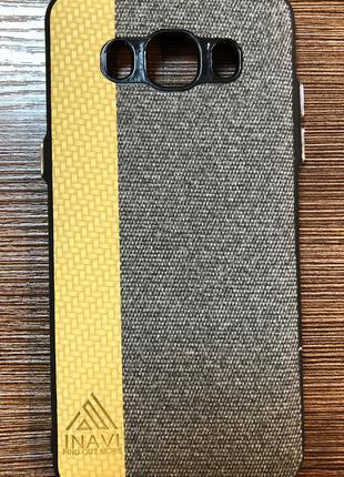 Чехол-накладка INAVI на телефон Samsung J510, J5 2016 золотист...