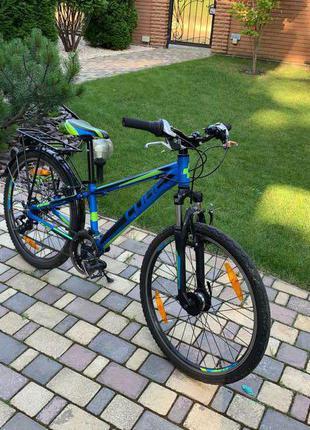 """Дитячий Велосипед Cube 24"""" динамо — втулкою"""