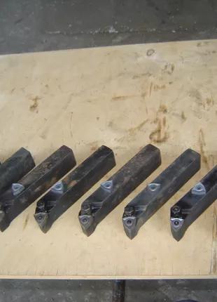6 шт резцов под треугольные твёрдосплавные пластины  механические