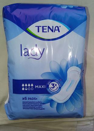 Продам урологичиские послеродовые прокладки TENA MAXI