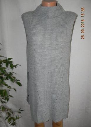 Теплое платье свитер south