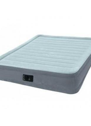 Надувная кровать двухместная, матрас-кровать надувная Intex Ве...