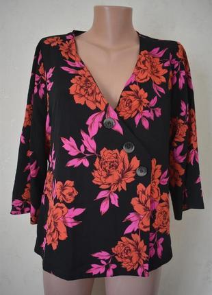 Новая красивая блуза с принтом primark