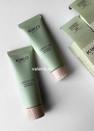 Bb-крем kiko milano green me bb cream
