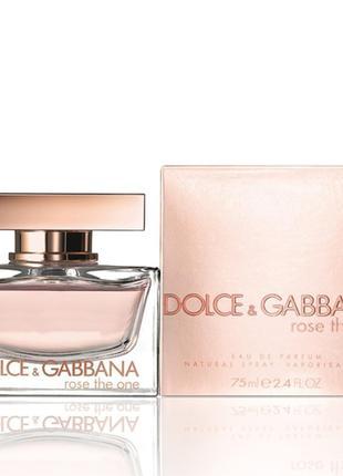 Женская туалетная вода Dolce & Gabbana The One Rose