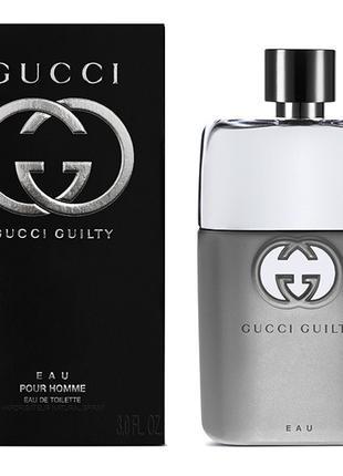 Парфюмированная вода Gucci Guilty Eau Pour Homme