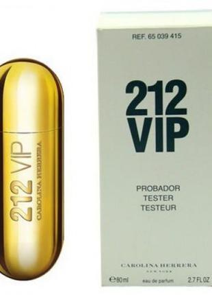 Тестер женский Carolina Herrera 212 Vip (Каролина Херрера 212 ...