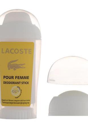 Женский дезодорант Lacoste Pour Femme