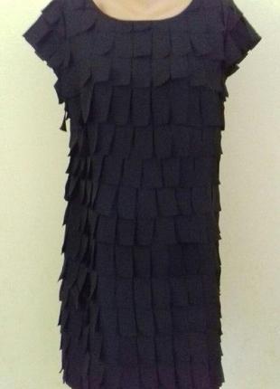 Красивое платье с бахромой debenhams