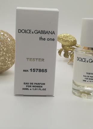 Парфюм-тестер Dolce and Gabbana The One (Дольче Габбана Зе Ван)