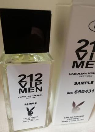 Парфюм с феромонами Carolina Herrera 212 VIP Men