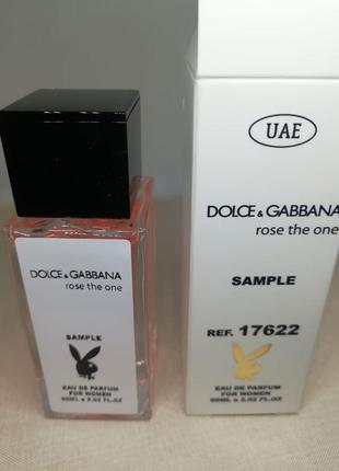 Парфюм с феромонами Dolce&Gabbana; Rose The One