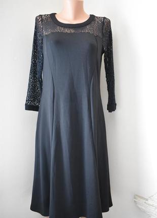 Красивое платье с кружевным верхом