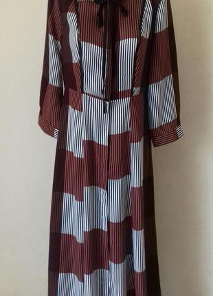 Длинное красивое стильное платье-рубашка с принтом glamorous