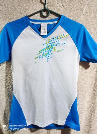 Женская спортивная футболка adidas clima cool.