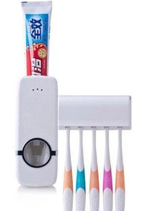 Держатель для зубной пасты и зубных щеток