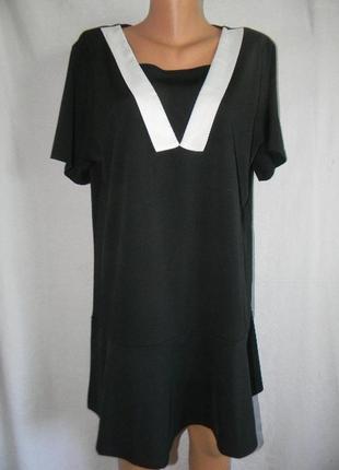 Новое платье туника большого размера