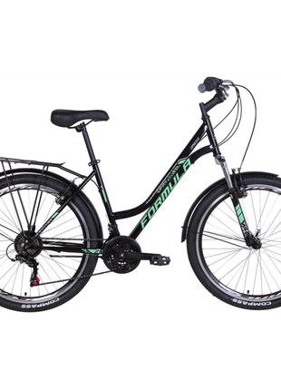 """Велосипед Formula 26"""" OMEGA AM Vbr рама-18"""" 2021 Black/Mint (O..."""