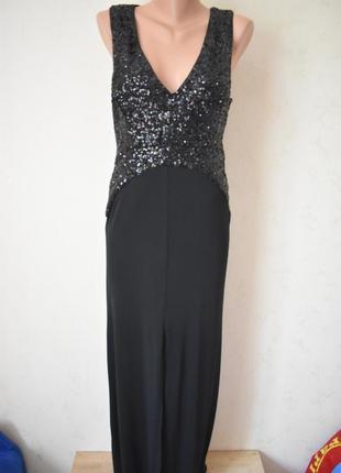 Красивое платье в пол с пайетками asos
