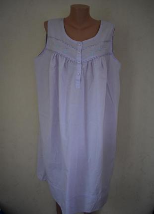 Ночная рубашка большого размера