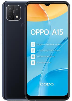 Смартфон OPPO A15 2/32GB Dynamic Black (6656232)