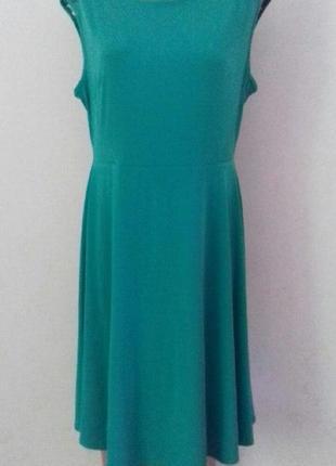 Платье с кружевом marks & spencer