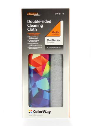 Двухсторонняя салфетка ColorWay Premium CW-6110A