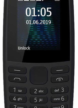 Мобильный телефон Nokia 105 TA-1203 чёрный