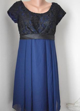 Красивое новое платье с кружевным верхом f&f
