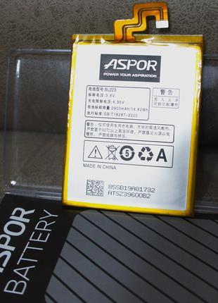Батарея Aspor Lenovo BL223 (K920/Vibe Z2 Pro)