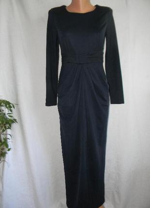 Элегантное новое длинное платье