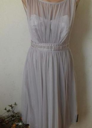 Новое нежное очень красивое нарядное платье debenhams