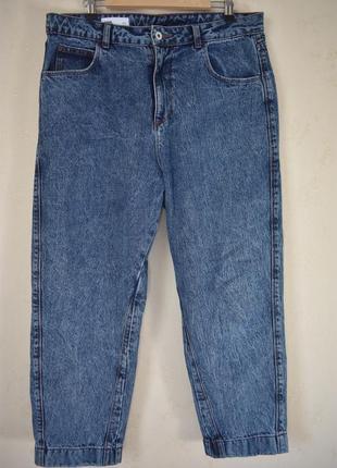 Стильные джинсы мом большого размера collusion от asos