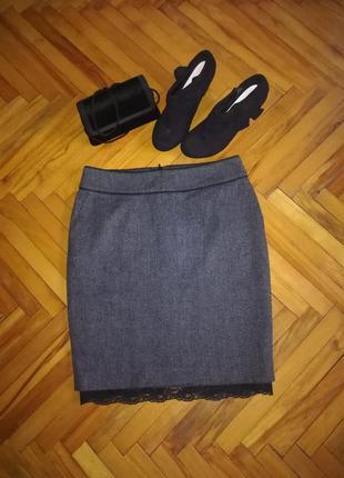 Теплая юбка на запах mexx