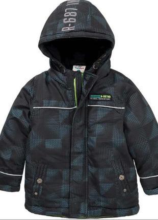 Куртка мальчику зима тополино р.  128