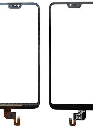 Тачскрин сенсор Nokia 6.1 Plus/Nokia X6 2018 черный