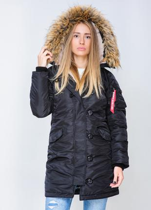 Жіноча Аляска Olymp N-3B Slim Fit, Black