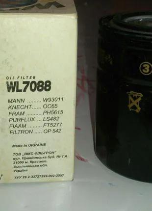 Фильтр масляный WL7088 WIX