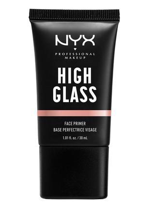 Nyx professional makeup high glass праймер