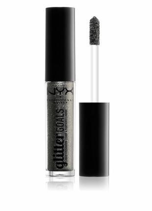 Жидкие тени для век nyx professional makeup glitter goals liqu...