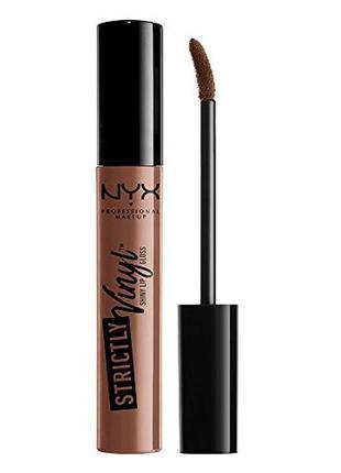 Блеск для губ nyx professional makeup professional strictly vi...