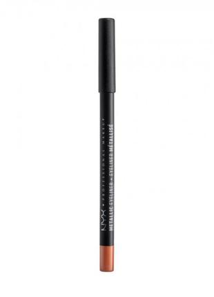 Карандаш для глаз nyx professional makeup professional metalli...