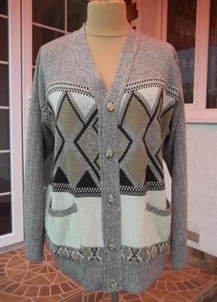 (50/52р) новый свитер кофта джемпер мужской англия