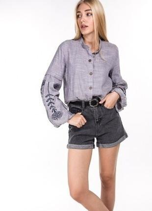 Вышитая блуза сорочка рубашка вишита вишиванка вышиванка