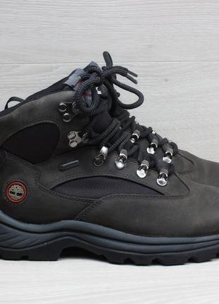Кожаные ботинки timberland gore-tex оригинал, размер 37