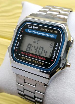 """Наручные часы """"old school style"""" премиум качества в серебристо..."""